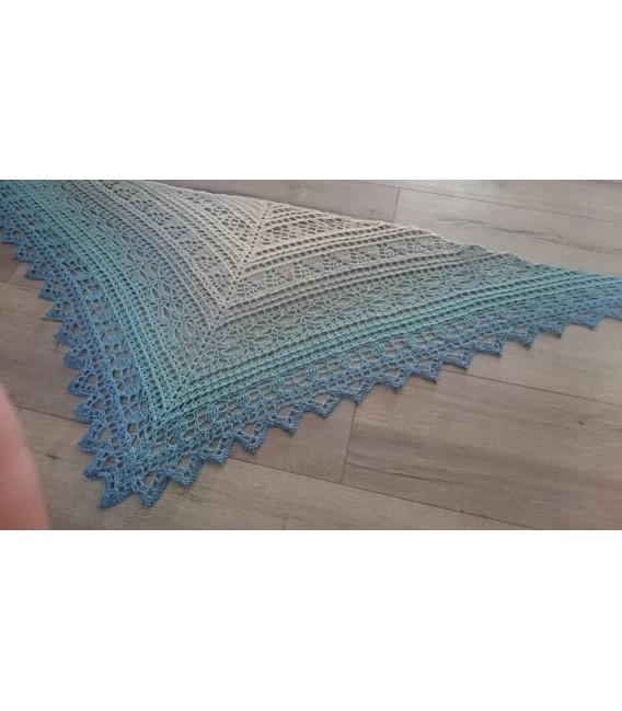 "modèle de crochet châle ""Windspiel"" de Tanja Schuster - photo 1"