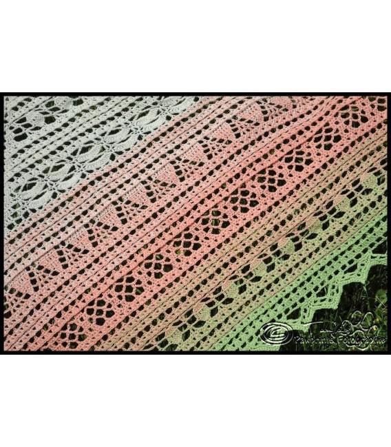 """Crochet Pattern shawl """"Windspiel"""" by Tanja Schuster - image 2"""