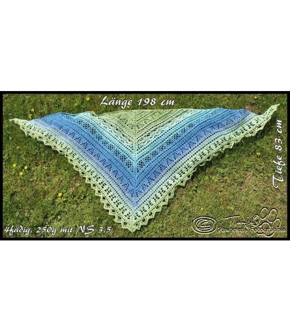 """Crochet Pattern shawl """"Windspiel"""" by Tanja Schuster - image 4"""