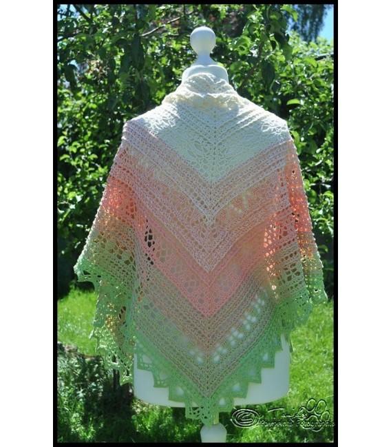 """Crochet Pattern shawl """"Windspiel"""" by Tanja Schuster - image 5"""