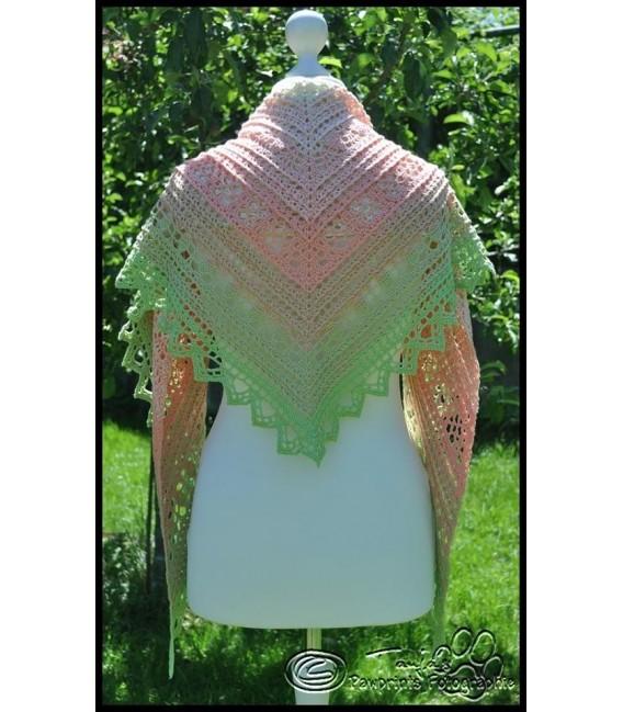 """Crochet Pattern shawl """"Windspiel"""" by Tanja Schuster - image 6"""