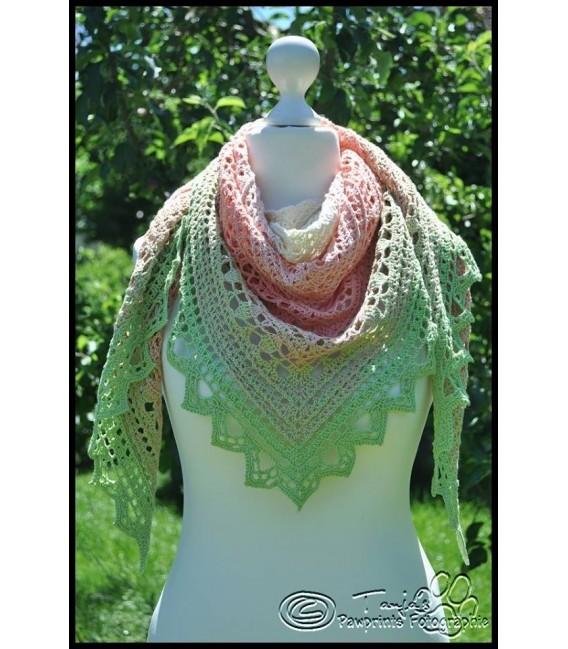 """Crochet Pattern shawl """"Windspiel"""" by Tanja Schuster - image 7"""