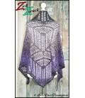 Zick Zerack - crochet pattern - shawl