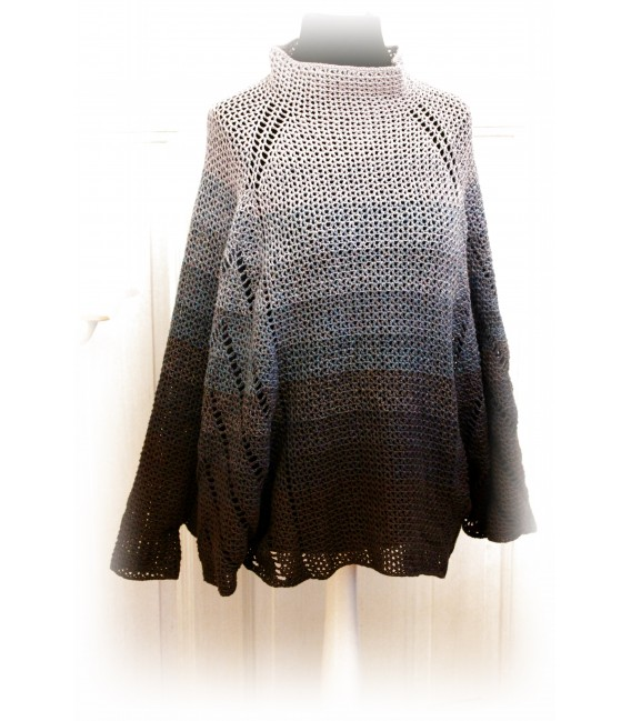 "Crochet Pattern poncho ""All'n nothing"" by Maike Ohlig - image 3"