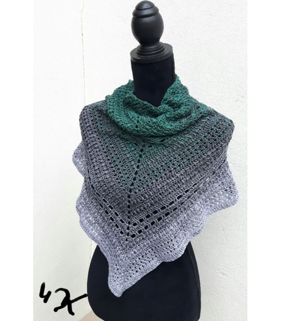 "Crochet Pattern shawl ""Beste Freunde"" by Ursula Deppe-Krieger - image 1"