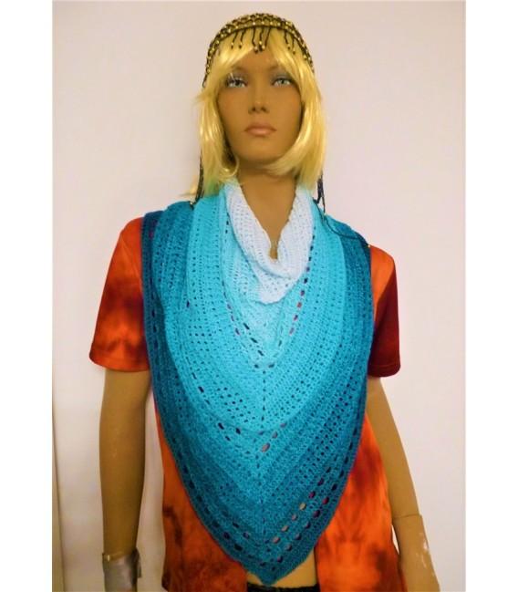 "Crochet Pattern shawl ""Beste Freunde"" by Ursula Deppe-Krieger - image 2"