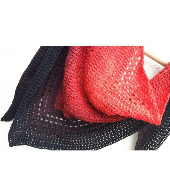 "Crochet Pattern shawl ""Beste Freunde"" by Ursula Deppe-Krieger - image 3"