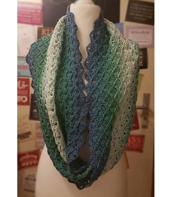"Crochet Pattern Moebius scarf ""Come Back"" by Tanja Schuster - image 1"