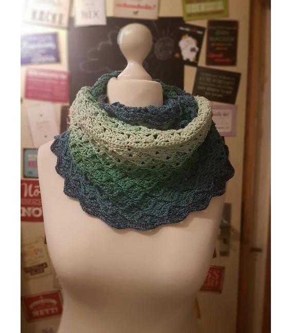 """modèle de crochet Moebius Echarpes """"Come Back"""" de Tanja Schuster - photo 2"""