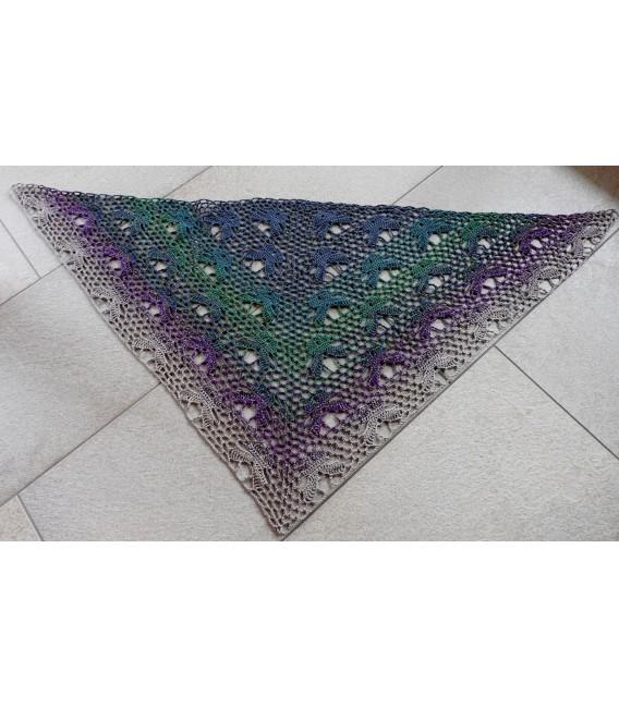 Pfauenauge - Farbverlaufsgarn 4-fädig - Bild 10