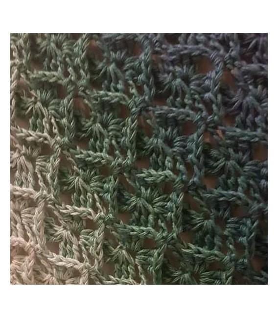 """modèle de crochet Moebius Echarpes """"Come Back"""" de Tanja Schuster - photo 4"""