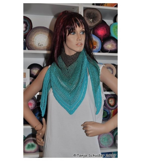 """Crochet Pattern shawl """"Cowgirl"""" by Tanja Schuster - image 1"""