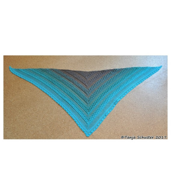 """Crochet Pattern shawl """"Cowgirl"""" by Tanja Schuster - image 3"""