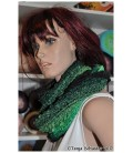 Cowgirl - crochet pattern - scarf - loop