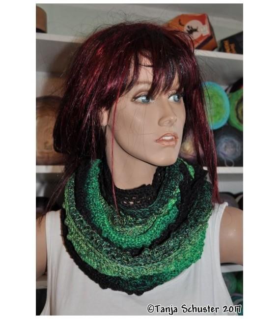 """Crochet Pattern Moebius scarf loop """"Cowgirl"""" by Tanja Schuster - image 2"""