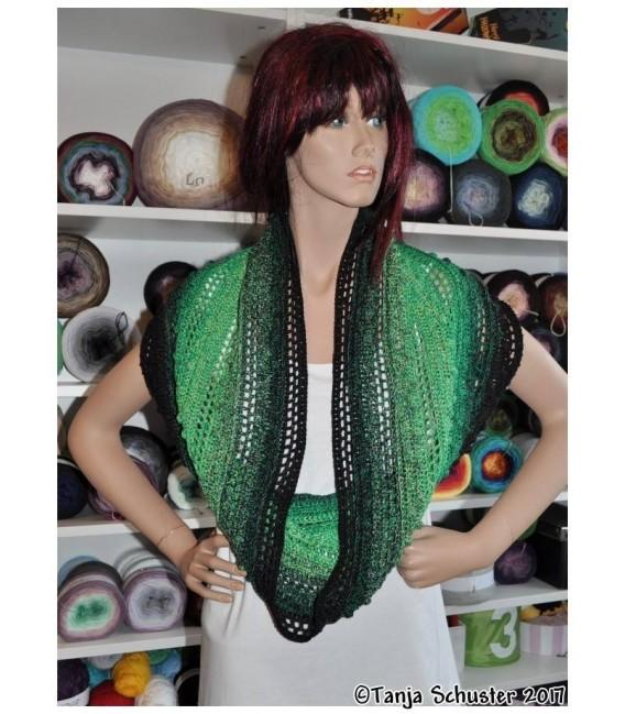 """Crochet Pattern Moebius scarf loop """"Cowgirl"""" by Tanja Schuster - image 3"""
