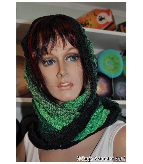 """Crochet Pattern Moebius scarf loop """"Cowgirl"""" by Tanja Schuster - image 4"""
