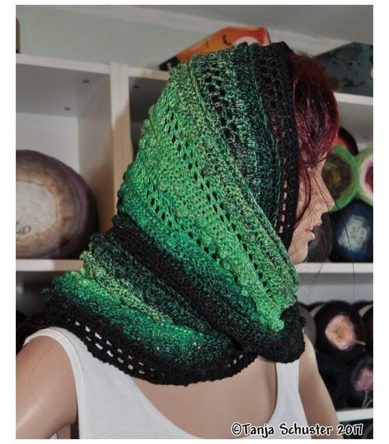 """Crochet Pattern Moebius scarf loop """"Cowgirl"""" by Tanja Schuster - image 5"""