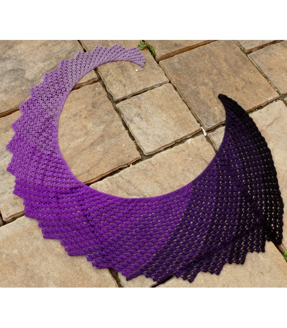 "Crochet Pattern shawl ""Dragon Fly Tuch (breite Variante)"" by Tanja Schuster - image 1"
