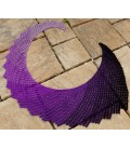 Dragon Fly breite Variante - modèle de crochet - châle