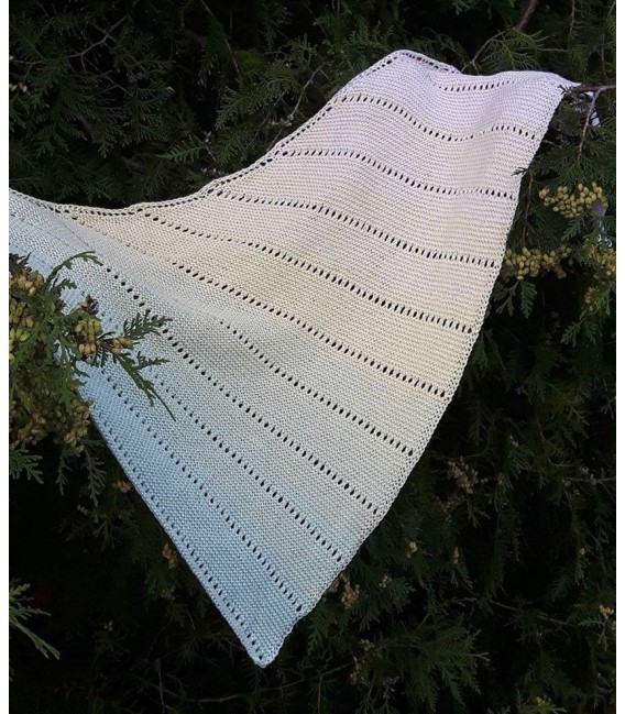 """Knitting Pattern shawl """"Easy Dots"""" by Ursula Deppe-Krieger - image 3"""