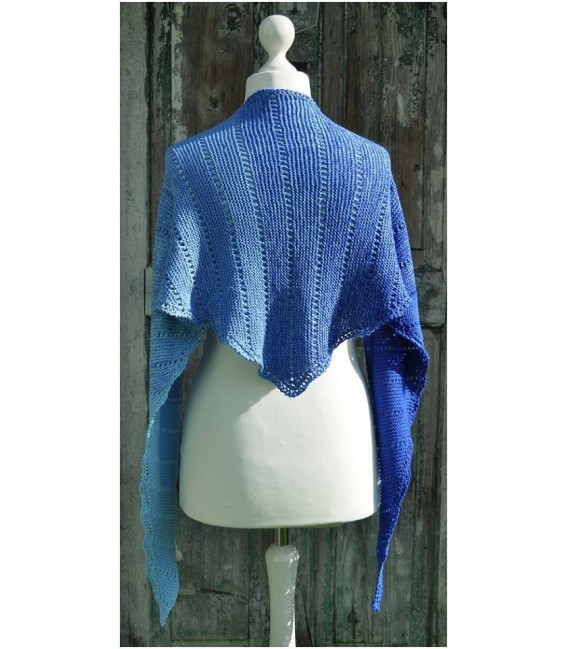"Knitting Pattern shawl ""Easy Dots returns"" by Ursula Deppe-Krieger - image 4"