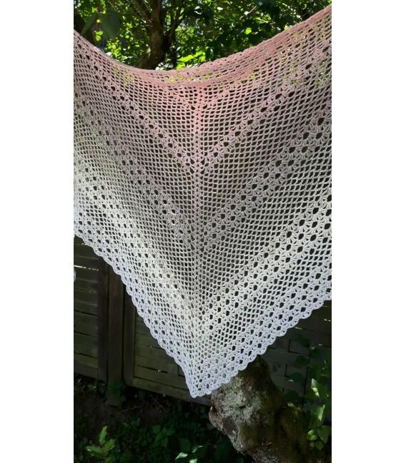 """Crochet Pattern shawl """"Glücksgefühl"""" by Ursula Deppe-Krieger - image 2"""