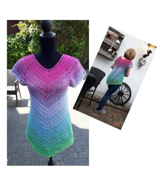 """modèle de crochet tunique """"Herbstwind"""" de Ursula Deppe-Krieger - photo 1"""