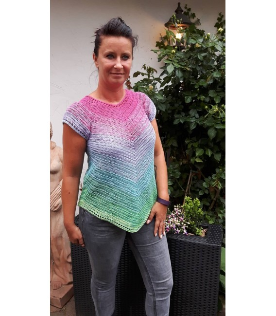 "Crochet Pattern tunic ""Herbstwind"" by Ursula Deppe-Krieger - image 2"