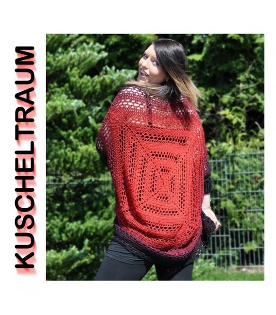 "Crochet Pattern vest - jacket ""Kuscheltraum"" by Francis Kallies - image 1"
