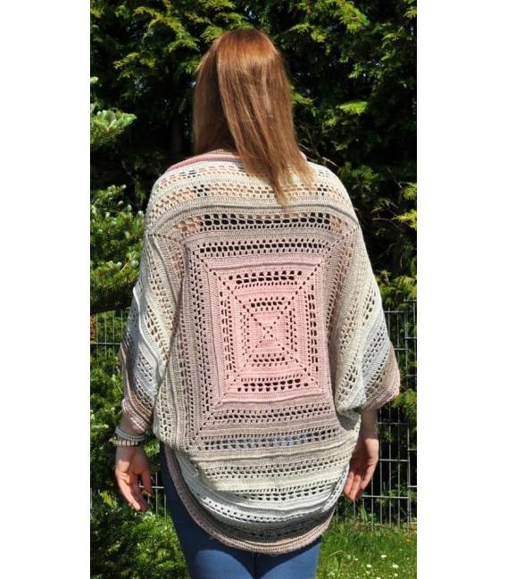 "Crochet Pattern vest - jacket ""Kuscheltraum"" by Francis Kallies - image 2"