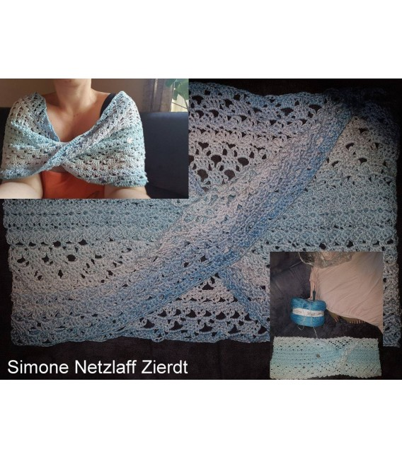 "modèle de crochet Moebius Echarpes ""Magic Butterfly"" de Tanja Schuster - photo 2"
