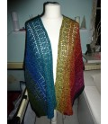 Mexican Girl - crochet pattern - poncho