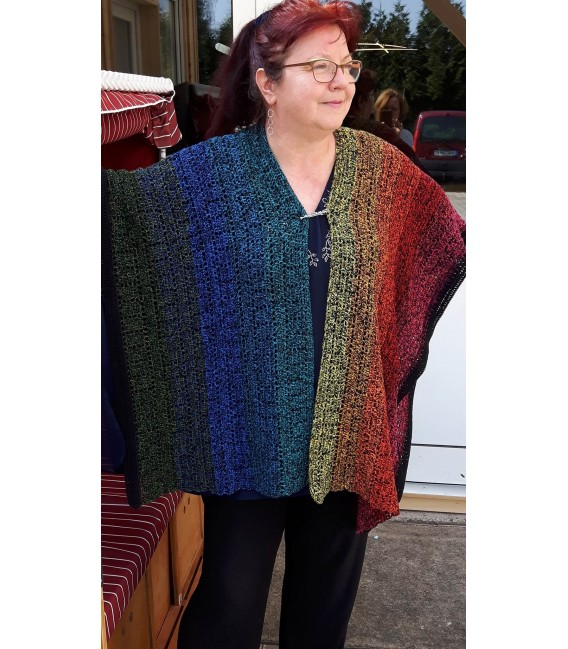 "Crochet Pattern poncho ""Mexican Girl"" by Ramona Pall - image 2"