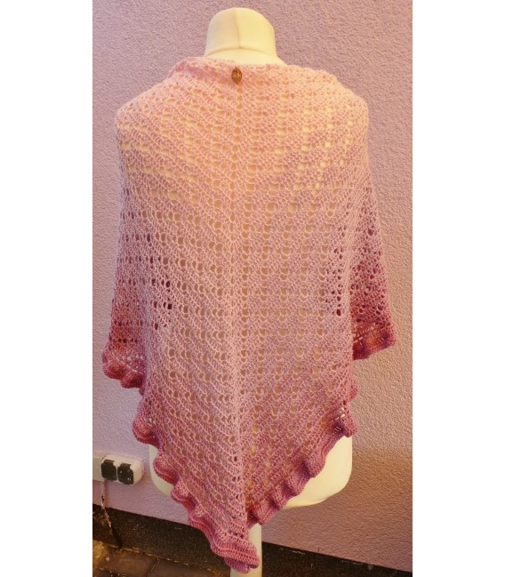 "Crochet Pattern shawl ""River Dreams"" by Tanja Schuster - image 2"