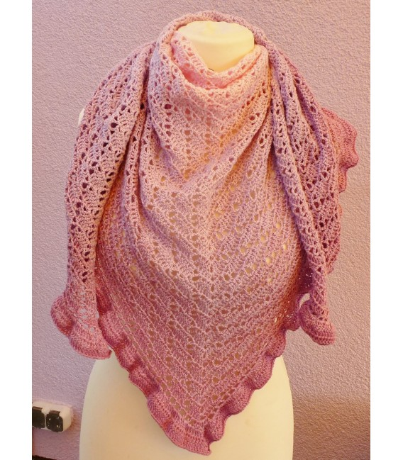 "Crochet Pattern shawl ""River Dreams"" by Tanja Schuster - image 3"