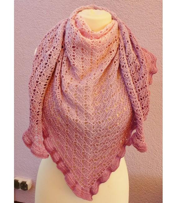 """modèle de crochet châle """"River Dreams"""" de Ursula Deppe-Krieger - photo 3"""