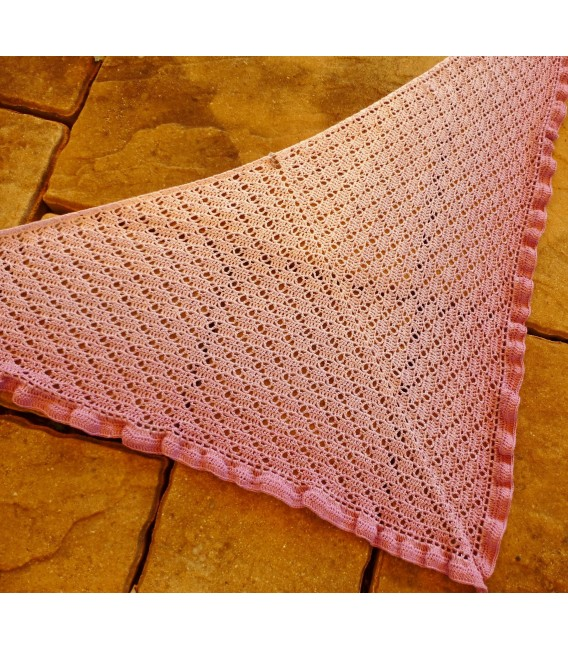 "Crochet Pattern shawl ""River Dreams"" by Tanja Schuster - image 4"