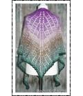 Mosaik - crochet pattern - shawl