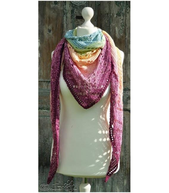 """Crochet Pattern shawl """"Seelenspiegel"""" by Tanja Schuster - image 1"""