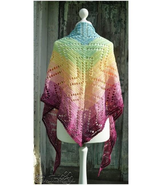 """Crochet Pattern shawl """"Seelenspiegel"""" by Tanja Schuster - image 2"""