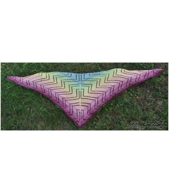 """Crochet Pattern shawl """"Seelenspiegel"""" by Tanja Schuster - image 3"""