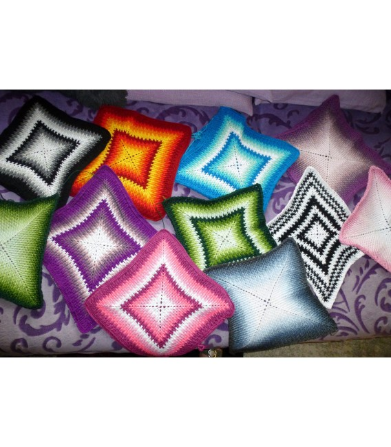 "Crochet Pattern pillowcase ""Sternentanz"" - image 1"
