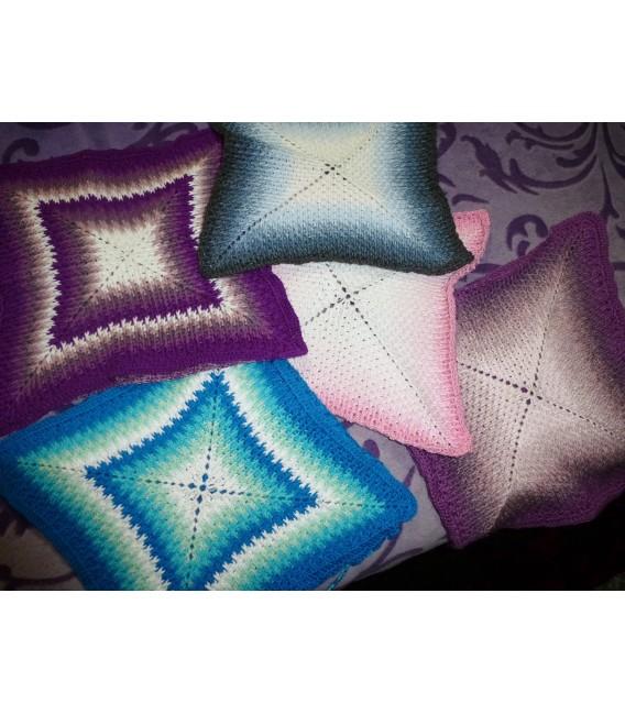 "Crochet Pattern pillowcase ""Sternentanz"" - image 2"
