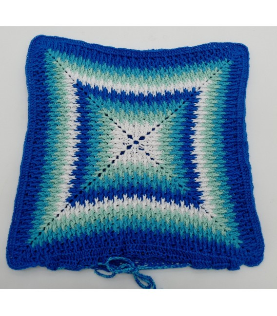 "Crochet Pattern pillowcase ""Sternentanz"" - image 5"