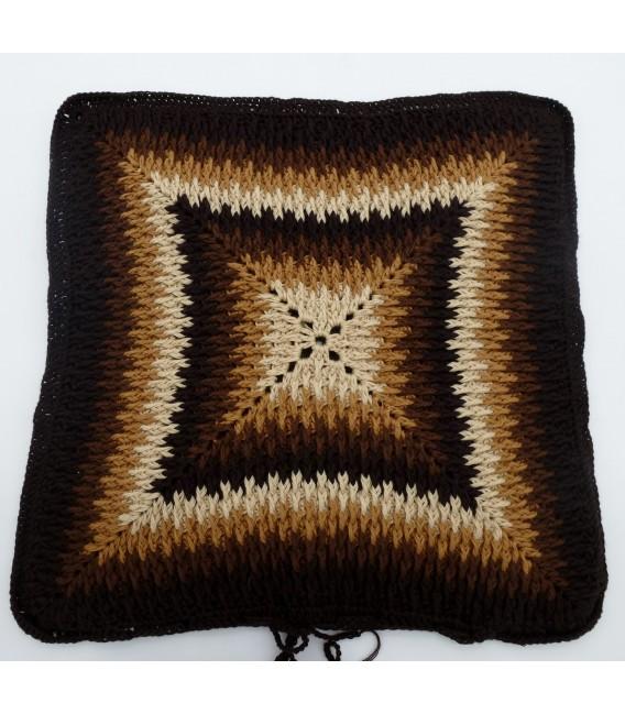 "Crochet Pattern pillowcase ""Sternentanz"" - image 6"