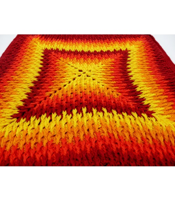 "Crochet Pattern pillowcase ""Sternentanz"" - image 9"