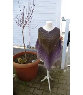 Wintermorgen - modèle de crochet - poncho