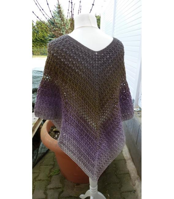 "Crochet Pattern poncho ""Wintermorgen"" by Ramona Pall - image 3"