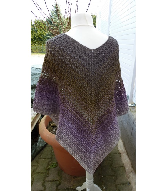 "modèle de crochet poncho ""Wintermorgen"" de Ramona Pall - photo 3"